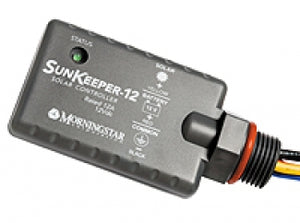 Morningstar SunKeeper Charge Controller PWM Junction Box Mounted 12V 12 Amp - SK-12