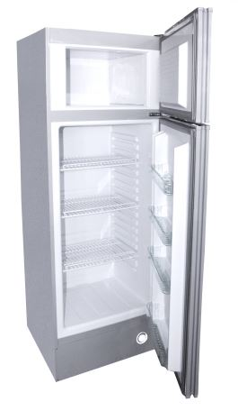 Sundanzer Refrigerator with Top Freezer 8.4 Cubic Foot 12/24V DC - DCRF290