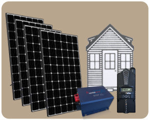 Colorado Solar Tiny House Solar Kit 1200W - TH-1200W
