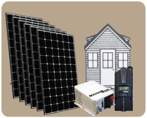 Colorado Solar Tiny House Solar Kit 1800W - TH-1800W