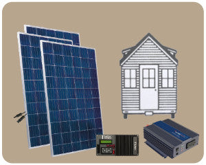 Colorado Solar Tiny House Solar Kit 900W - TH-900W