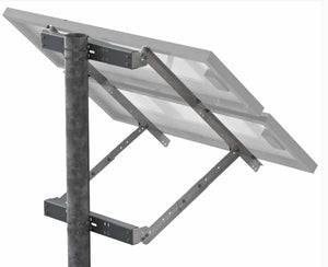 Tamarack 45 Inch Solar Panel Side-Of-Pole Mount - UNI-SP/02