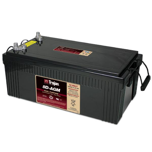 Trojan Battery 12V 230Ah AGM 8D - Motive 8D-AGM