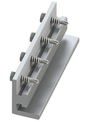 Unirac Solarmount Pro Series Bonding Splice Bar Mill Finish - 303019M