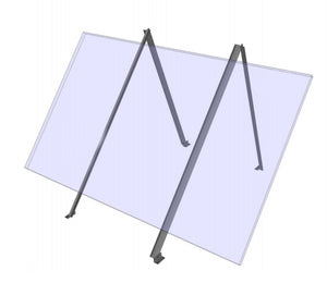 General Specialties S-Rail Universal Roof, Wall and Ground Mount 1 Panel Size A
