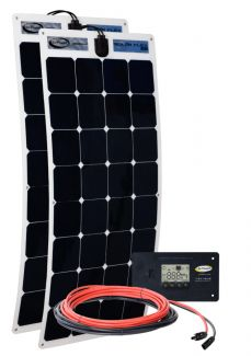 Go Power Solar Flex Kit 200W 12V - GP-FLEX-200