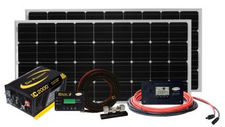Go Power Solar Elite Charging Kit 380W - SOLAR ELITE