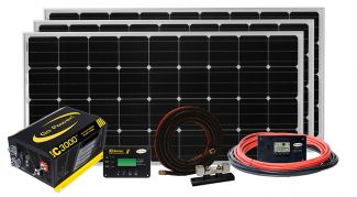 Go Power Solar Extreme Charging System  570W - SOLAR EXTREME