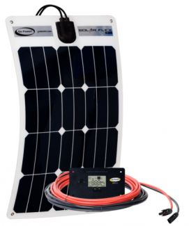 Go Power Solar Flex Kit 30W 12V Solar Kit - GP-FLEX-30