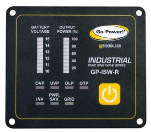 Go Power 12V ISW Series Inverter Remote - GP-ISW-R-12