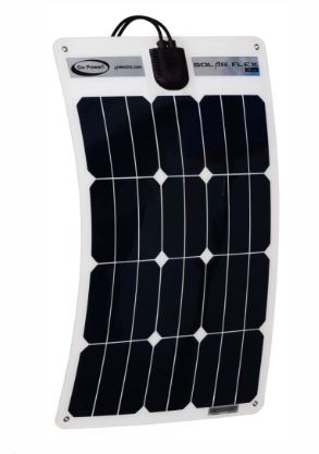 Go Power Solar Panel Semi-Flexible FLEX 35 35W 12V Solar Panel