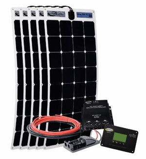 Go Power Solar Flex Solar Kit  500W 12V - GP-FLEX-500