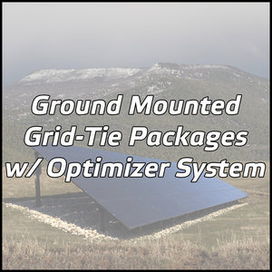 Ground Mounted Solar Packages w/ Optimizer System