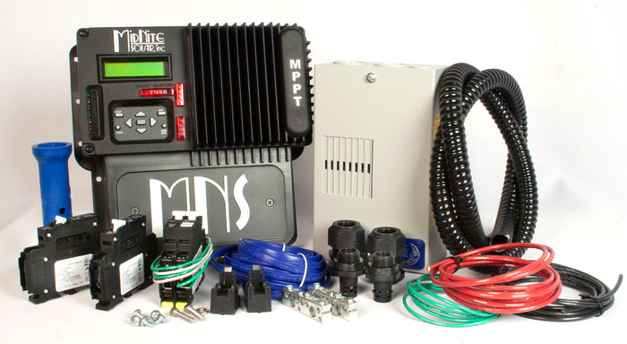 MidNite Solar Kid 30A MPPT Charge Controller Kit - MNKIDBASIC KIT