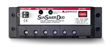 Morningstar SunSaver Duo PWM Charge Controller 25A 12V - SSD-25