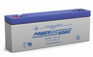 Power-Sonic Battery 12 Volt 2.5 Ah Sealed AGM  - PS-1220
