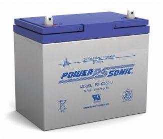 Power-Sonic Battery U 12 Volt 55 Ah Sealed AGM - PS-12550