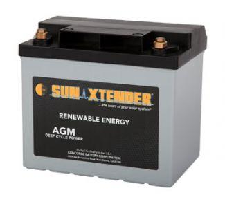 Sun Xtender Battery 34AH 12V Battery Sealed AGM - PVX-340T