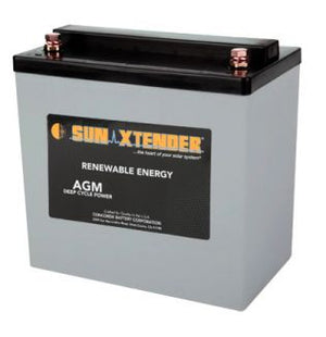 Sun Xtender Battery 56AH 12V Battery Sealed AGM - PVX-560T