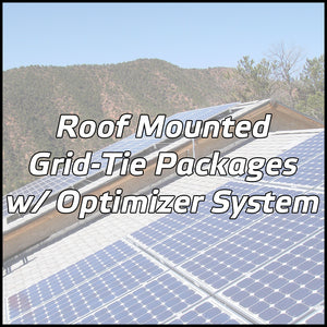 Roof Mounted Solar Packages w/ Optimizer System