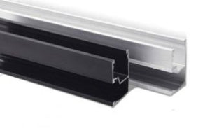 SnapNrack Standard Rail Set, 162 inch Black (Box of 2) -  015-09818