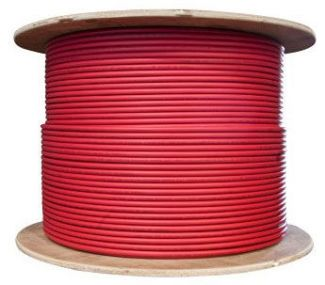PV Wire 10 AWG 500 Foot Spool Red - PVR500SPOOL