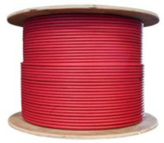 USE-2 Wire 10 AWG 500 Foot Spool Red - use2_10awg_spool_red