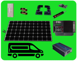 Colorado Solar Sprinter Van Solar Kit 300W - SPR-300