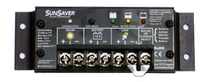 Morningstar SunSaver Charge Controller PWM 6A 12V with Low Voltage Disconnect - SS-6L-12V