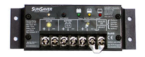 Morningstar SunSaver Charge Controller PWM 10A 24V with Low Voltage Disconnect- SS-10L-24V