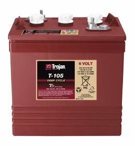 Trojan Battery 6V 225Ah Flooded - T-105 Plus