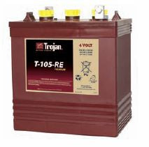 Trojan Battery 6V 225Ah Flooded - T105-RE