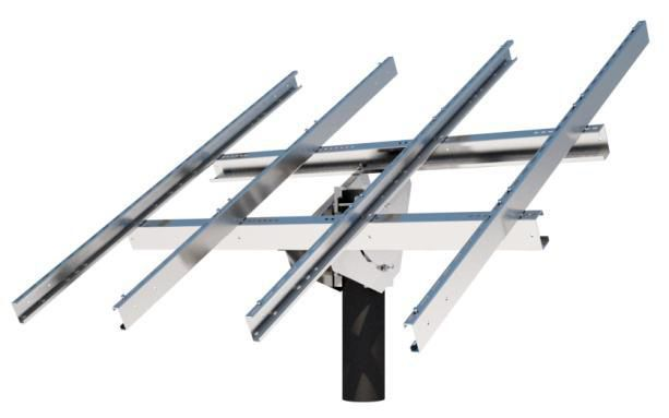 Tamarack Solar Panel Mount Top-Of-Pole - UNI-TP/06LL