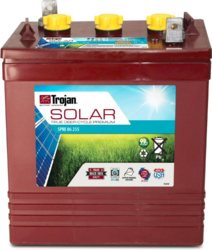 Trojan Battery 6V 225Ah Flooded - SPRE-06-255-DS