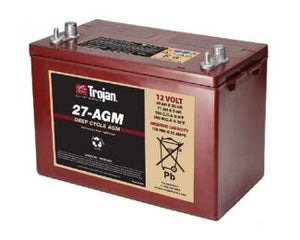 Trojan Battery 12V 89Ah AGM T27  - 27-AGM