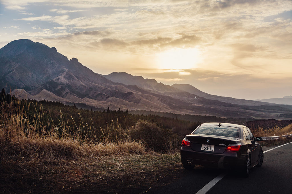 The Kirishima Mountains in Japan for BMW
