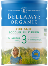 Load image into Gallery viewer, Bellamy's Step 3 Organic Toddler Milk Drink - 900g