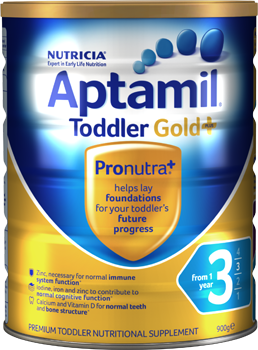 Aptamil® Gold+ 3 Toddler - 900g