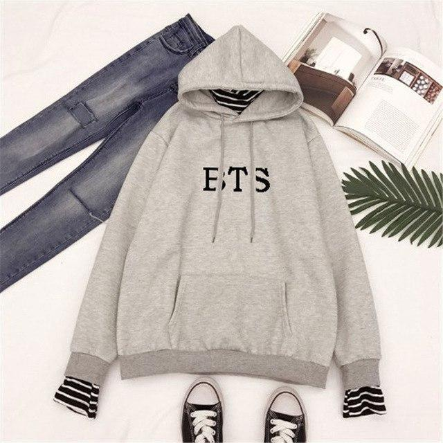 BTS Hoodie New Arrival Love Yourself Hoodies Bangtan Boys Sweatshirts Jin Vwwetoro-wwetoro
