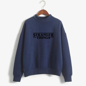 Hoodies Stranger Things Women Hoodie Fleece Harajuku Sweatshirts Autumn Winter Hip Hopwwetoro-wwetoro