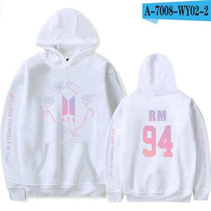 Kpop Bangtan Boys Love Yourself BTS V ARMY Print Hoodies Sweatshirtswwetoro-wwetoro