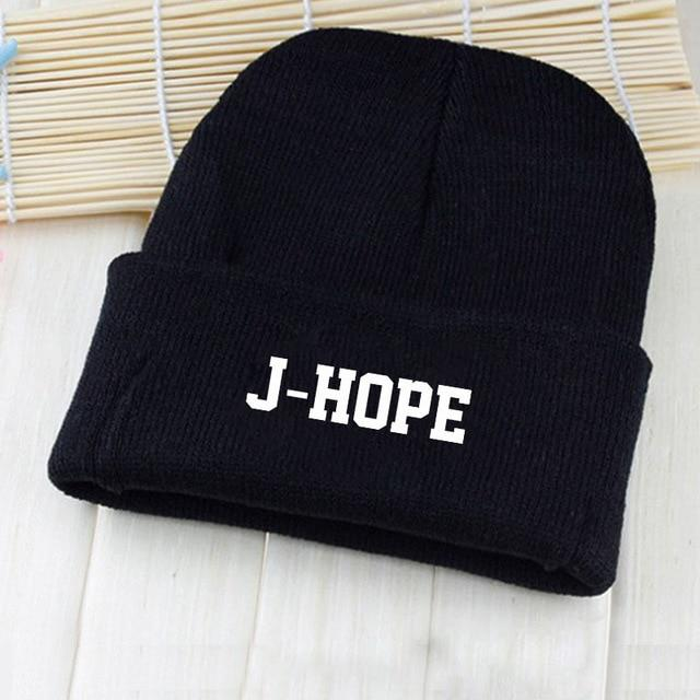 2018 KPOP Harajuku BTS Bangtan Boys New Autumn Winter Warm Hat Casualwwetoro-wwetoro