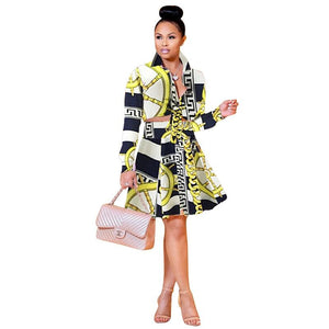 womens two piece sets 2018 Autumn winter printing sexy two piece pluswwetoro-wwetoro