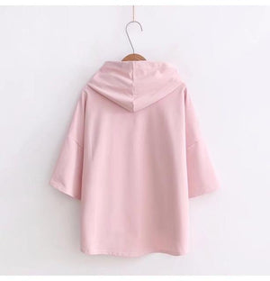 Ulzzang Harajuku hoodies Fashion BTS Kpop Clothes Women Casual Hooded Sweatshirts Pulloverswwetoro-wwetoro