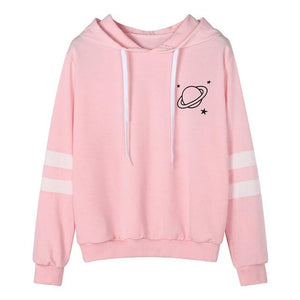 Women Hoodies Hooded Long Sleeve Sweatshirt Girls Hip Hop Hoodie Autumnwwetoro-wwetoro