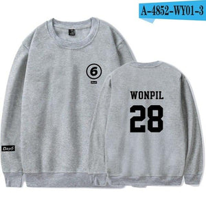 Day6 Sweatshirts Hoodie K-POP Casual Cotton shirt Day6 Album Thin Clothes Pulloverwwetoro-wwetoro
