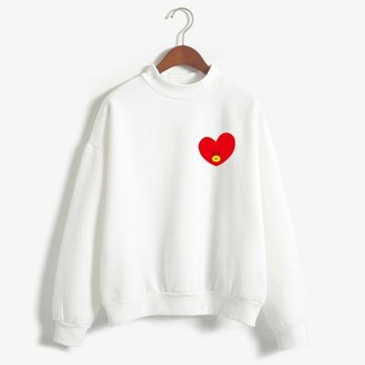 2018 Women Sweatshirts Kpop BTS Fans Club Fashion BT21 Kawaii Anime Fleecewwetoro-wwetoro