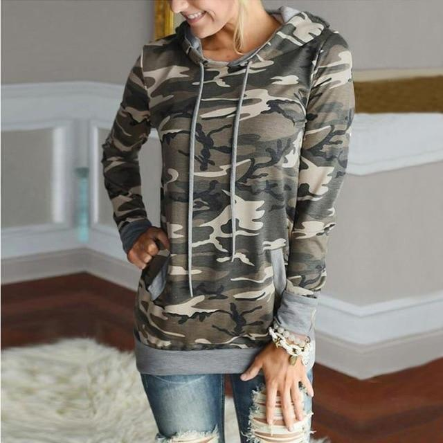 Women Hoodies 2018 Fashion Digital printing Long sleeveswwetoro-wwetoro