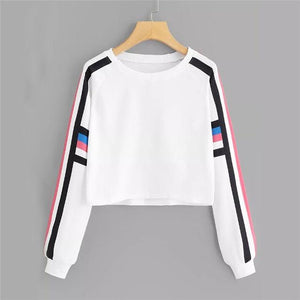 Women's Casual Autumn Long Sleeve Winter O-Neck print Sweatshirt Sudadera Mujerwwetoro-wwetoro