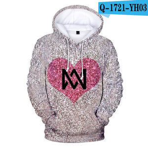 Hoodie Marcus and Martinus 3D Hoodies Sweatshirts Print Harajuku Women/Men Marcuswwetoro-wwetoro
